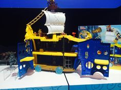 Pin for Later: Here's Your Peek Into 200+ Toys That Will Hit Store Shelves Later This Year Captain Jake and the Neverland Pirates Mighty Colossus Jake will be rebranded this year, and this new pirate ship has everything a true Jake fan could want!