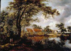 Burgundy Baron's Blog: Meindert Hobbema painting