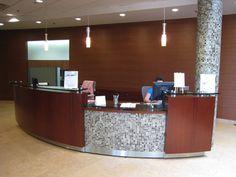 Office Receptionist Desk