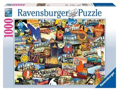 Road Trip USA - 1000 Piece Jigsaw Puzzle