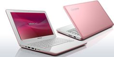 Lenovo IdeaPad S series- PINK. Chicks dig it.