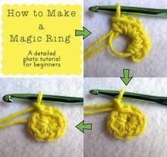 I'm bringing this tutorial over from my old blog because, why the heck not?! A magic ring (also called a magic loop or adjustable circle) is a way to start a crochet project so you won'…