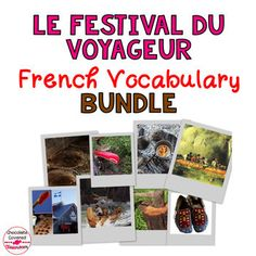Le Festival Du Voyageur Bundle – A French Vocabulary Unit Interactive Activities, Art Activities, French Classroom, Vocabulary Games, Teaching French, Upper Elementary, How To Introduce Yourself, Festivals, Homeschool