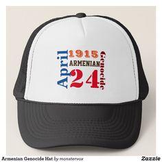 Armenian Genocide Hat #Armenian #Genocide #April241915 #April24 #Turkey #Armenia #Guilty #MassKilling #Justice #Hat #Cap #Wounds