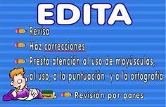 Writing Process Poster 5 Spanish version