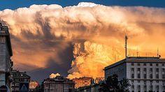 Pe cât de fascinant, pe atât de greu de imaginat! În Italia a avut loc un fenomen cum rar ți-a fost dat să vezi.