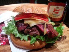 Lust auf Burger? Habe wieder mal für euch getestet. Ok, is gelogen. Für mich ;)  BioBurgerMeister Salzburg: Getestet und für fantastisch empfunden! Hammer Burger! - Hubert-testet