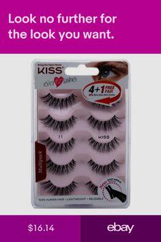 863921c096d Kiss Eyelash Tools Health & Beauty #ebay Kiss Eyelashes, False  Eyelashes, Makeup