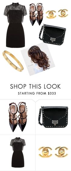 A fashion look from August 2017 featuring high neck lace dress, black strap pumps and studded leather handbags. Browse and shop related looks. Sandro, Valentino, Chanel, Shoe Bag, Polyvore, Stuff To Buy, Accessories, Shopping, Shoes