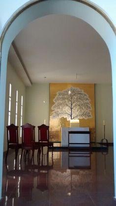 Capela do Santíssimo Sacramento/  Igreja N S de Fátima/ SP - BR 03/2016
