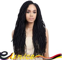 "Beauty Hair Havana Mambo Twist 20"" Senegalese Twist Dreadlocks Braids Synthetic Locs Faux Locs Crochet Braid Hair Free Shipping"