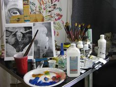 All this stuff is really here LOL I HAZ it I bought it I love it #hartparty #artsherpa The Art Sherpa, Lol, Party, Painting, Painting Art, Parties, Paintings, Painted Canvas, Drawings