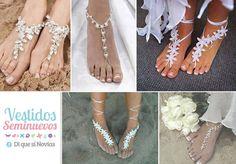 Zapatos de Boda en playa