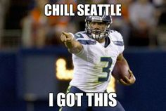 CHILL HE SAID WE GOT THIS GO HAWKS!