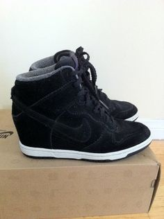 NIKE Dunk Sky High Wedge Sneakers
