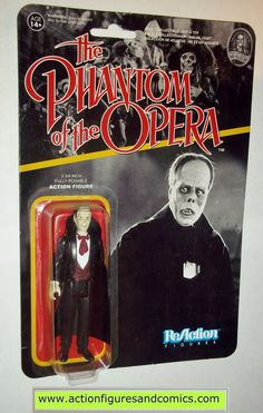 Reaction figures PHANTOM of the OPERA universal monsters movie funko toys action moc mip mib horror