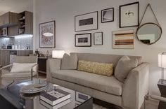 #livingroom Condo, Gallery Wall, Living Room, Interior, Home Decor, Homemade Home Decor, Indoor, Drawing Room, Sitting Area