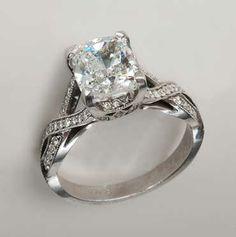 Item 101540 - very similar to Channing Tatum's wife's ring (Jenna DeWan)