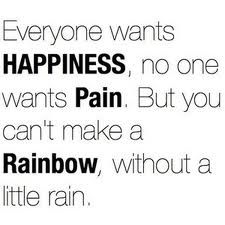 Happiness & Pain!