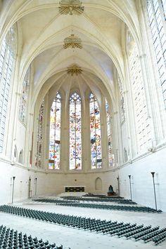Holy Chapel at Vincennes Castle - Paris