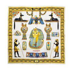 "1stdibs | Hermes Carré ""Tutankhamun"""