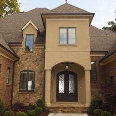 Exterior More House Ideas Brick And Stucco Exterior Design Ideas House