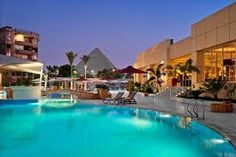 Reserve your escape at Le Méridien Pyramids Hotel & Spa, a chic hotel in Cairo, Egypt providing superb views of the Great Pyramids at Giza. Spa Hotel, Luxury Escapes, Giza, 5 Star Hotels, Cairo, Egypt, Around The Worlds, Outdoor Decor, Travel