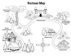 The Jolly Pocket Postman book to teach map skills. Loved that book as a kid! Jolly Christmas Postman, Fractured Fairy Tales, People Who Help Us, Fairy Tale Theme, Traditional Tales, Geography Lessons, Map Skills, Teaching Social Studies, History Books