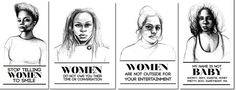 Stop Telling Women to Smile: Around The Country by Tatyana Fazlalizadeh — Kickstarter