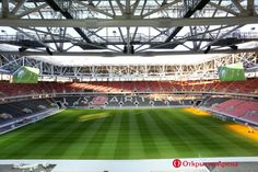 Otkritie Arena | FC Spartak | Moscow | 2018 FIFA World Cup | stadium design World Cup 2018, Fifa World Cup, Fc Spartak Moscow, Russia 2018, City Architecture, New Homes, Europe, Study, Design