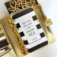 Personal Size Planner Dashboard: Keep Your by HelloPrettyPlanner