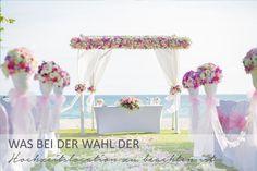 Was ihr bei der Wahl eurer Hochzeitslocation beachten solltet