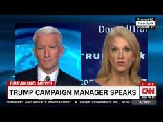 CNN's Anderson Cooper  Schools Kellyanne Conway On Her Boss's Bad Poll N...
