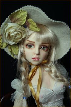 The Wait is Over- the excitement starts- a new era begins ! Big Eyes Artist, Doll Repaint, Ooak Dolls, Ball Jointed Dolls, Vintage Dolls, Beautiful Dolls, Sculpture Art, Fashion Dolls, Fantasy Art
