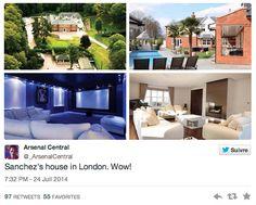 L'incroyable future maison d'Alexis Sanchez à Londres - http://www.actusports.fr/113651/lincroyable-future-maison-dalexis-sanchez-a-londres/