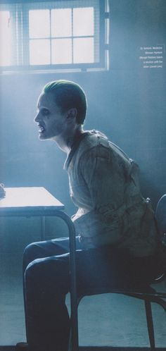 """""""Tell me dear, have you ever had a really bad day?"""" —The Joker #suicidesquad #thejoker"""