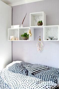 IKEA Hack: wie du ein edles DIY Wandregal im Marmorlook zauberst
