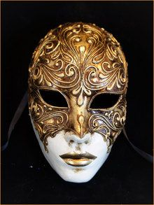 Authentic Venetian Mask Volto Mystery