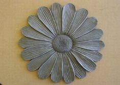 Sunflower stepping stone plastic mold reusable concrete plaster mould