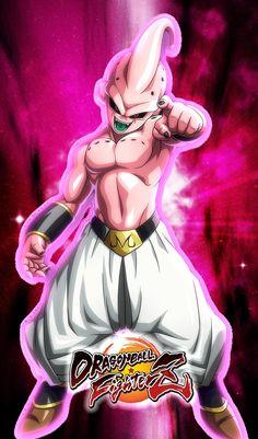 Dragon Ball Z, Buu Dbz, Majin Boo, Kid Goku, Super Saiyan, Character Description, Pictures To Draw, Cool Drawings, Princess Zelda