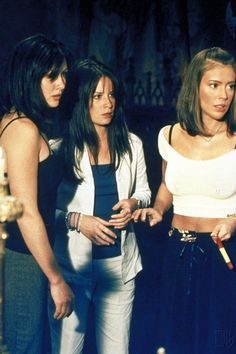 Prue, Piper en Phoebe Halliwel.