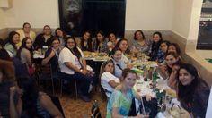 NT festejando la final de la Obra el Misántropo julio 2014