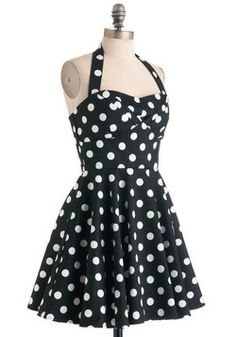 Traveling Cupcake Truck Dress in Black, #ModCloth