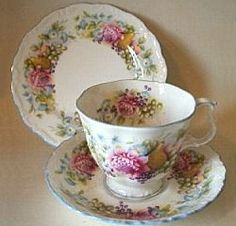 "Royal Albert - ""Summer Garland""-www.royalalbertpatterns.com"
