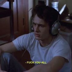 james franco, grunge, and freaks and geeks resmi Tv Quotes, Mood Quotes, Life Quotes, Sad Movie Quotes, The Words, Citations Film, Freaks And Geeks, James Franco, James 5