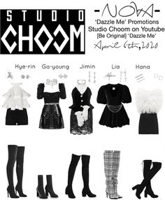 -nova-official on ShopLook Kpop Fashion Outfits, Stage Outfits, Friend Outfits, Girl Outfits, Cute Outfits, Korea Dress, Witchy Outfit, Mode Kpop, Korean Girl Fashion