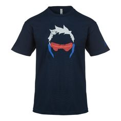 Overwatch Soldier 76 Shirt - Men's - Overwatch - Shop By Game | Blizzard Gear Store