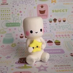 Marshfellow and Kawaii Star by Marshfellows on Etsy