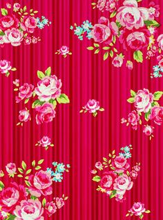 Craft A Doodle Doo: The Freebe Jubilee-Ravishing Red Floral Collection! (And a Bonus Surprise! Flowery Wallpaper, Paper Wallpaper, Print Wallpaper, Iphone Wallpaper, Scrapbooking, Scrapbook Paper, Textile Patterns, Print Patterns, Decoupage