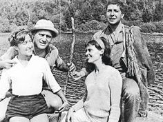 Leonard with his first girl-friend Anne Sherman and with Aviva and Irving Layton